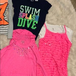 Justice Shirts & Tops - Justice 14-16 girls shirts bundle lot of 6 pieces